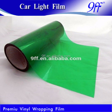 Different colors car light decoration tint vinyl film car body smart stickers