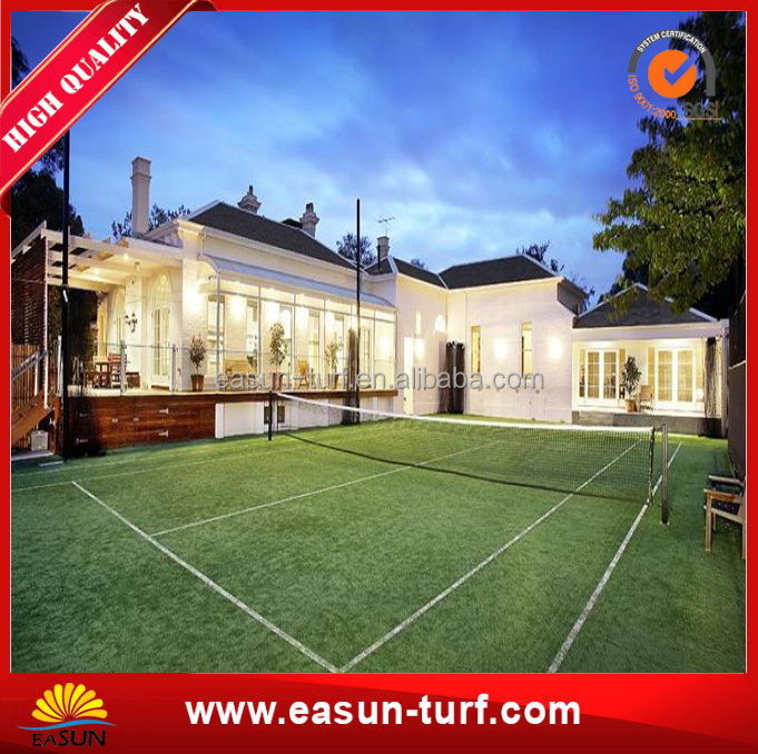 China good quality sports artificial grass For Tennis Sports Floor