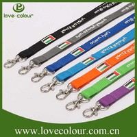 High quality country flag lanyard for promotion