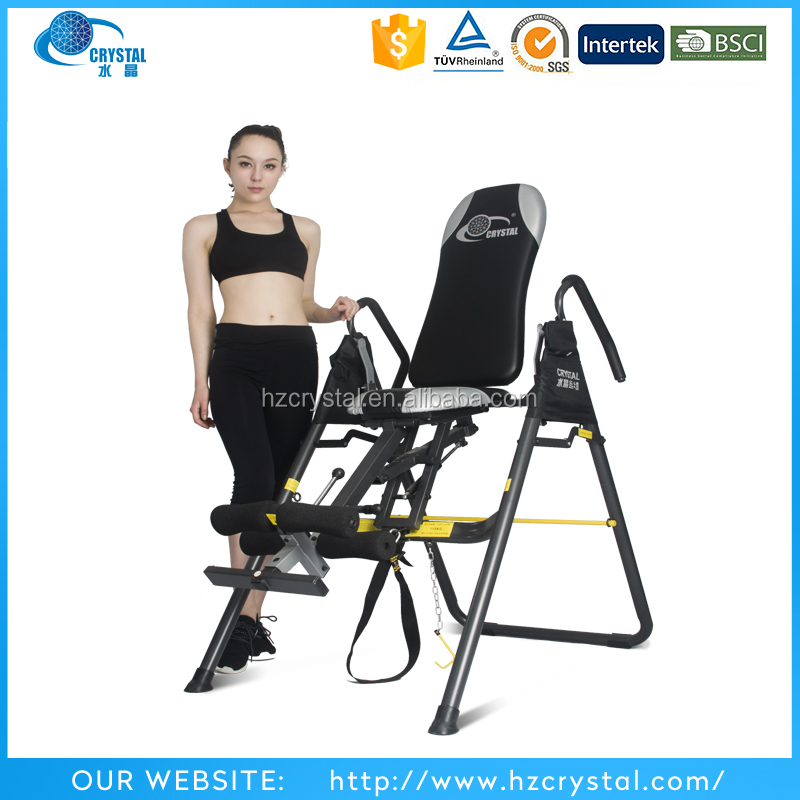 CRYSTAL SJ-7200 Home gym equipment body plus inversion table for relief