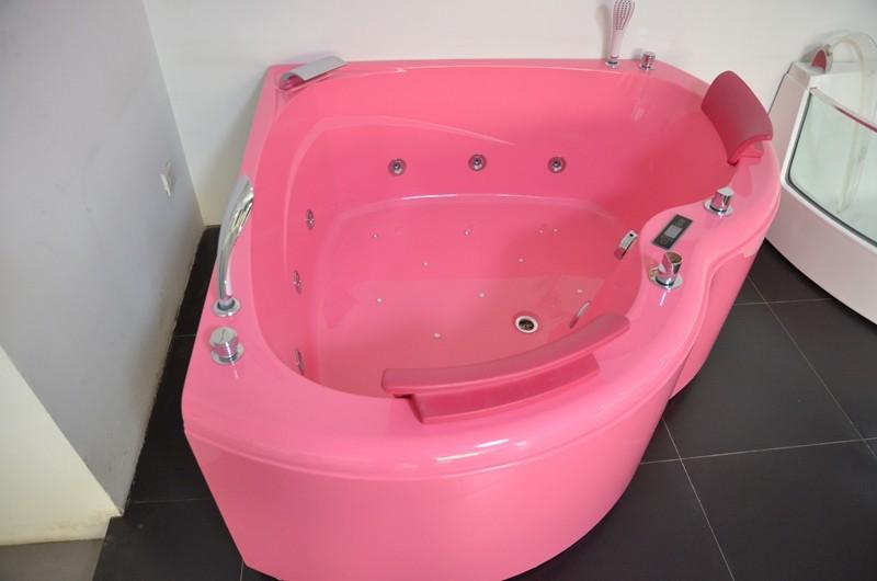 Hs b1807t vendita calda doppio sedile rosa di colore acrilico ...