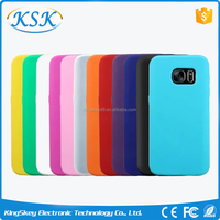 2016 new arrival various colors silicone phone Case For Samsung S7