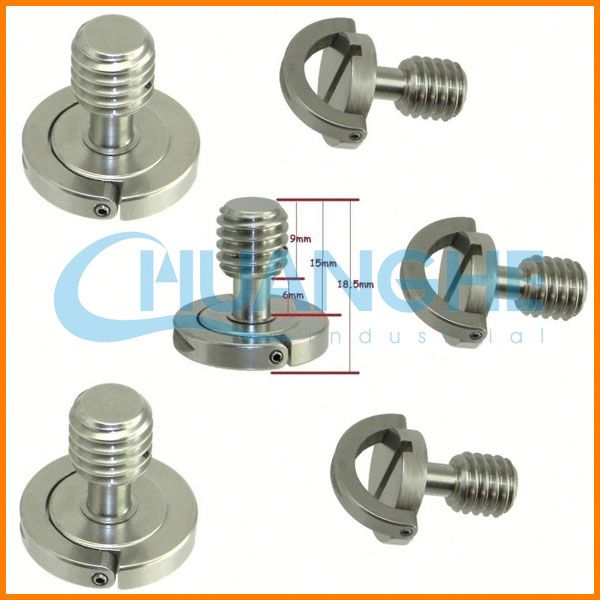 China precision stainless steel umbrella base with screw
