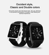 1.52inch 240*240px MTK6572 512MB/4GB Bluetooth4.0 WiFi GPS Android 3G phone call Smart Watch 2017 New Arrival X86 Smartwatch