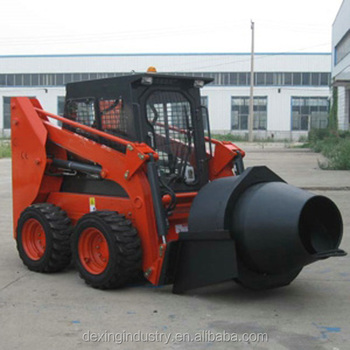big capacity Cement Mixer skid steer loader