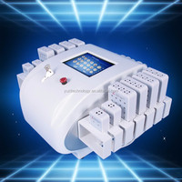 Yuzi-beauty 7 in 1 lipolaser cavitation rf machine for beauty center YU-E6