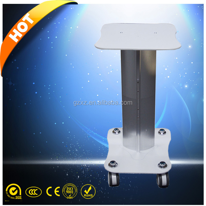 Iron Trolley Stand Assembled Roller Cart For Ultrasonic Cavitation RF Beauty Machines Use trolley beauty machine