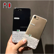 Creative keyboard pattern cover case chating ARE YOU OK funny green frog ultra thin tpu phone case for iphone 7 7plus