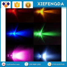 3mm LED Light-Emitting Diode Red, Green, Blue and Yellow LED component