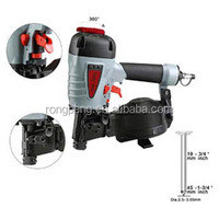 High Efficiency Factory Price Wholesale RongPeng CN45 Air Roofing Coil Nail Gun