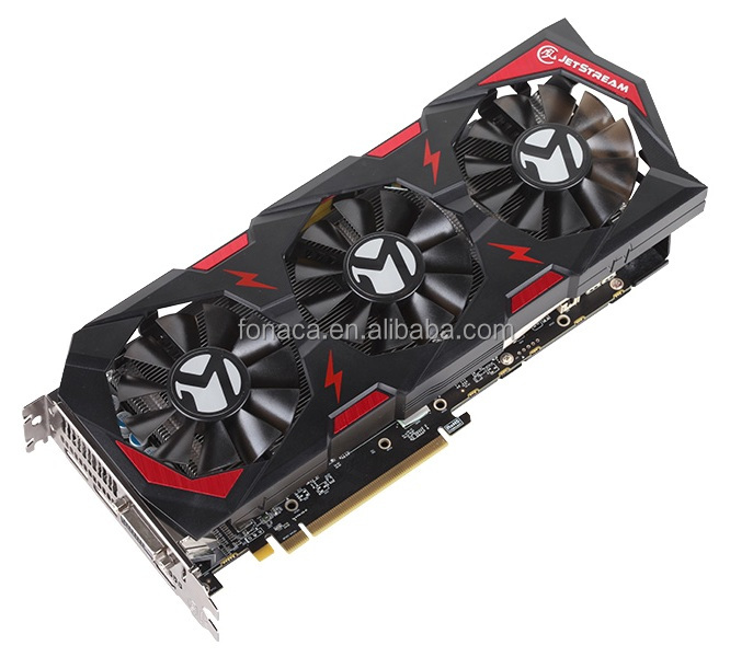 Newest AMD Radeon Graphics Card 2048 Bit 8192 MB RX580 For Bitcoin Mining