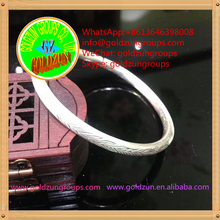 s925 bangles Custom Letter Stainless Steel Thin and Plain Metal Bangle