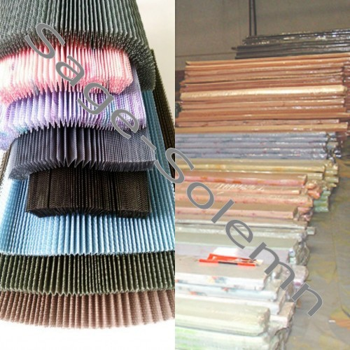 Color Printing Pleated Fly Screen Mesh for Sale