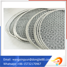 round shape ss 304 barbecue wire mesh/crimped barbecue wire mesh