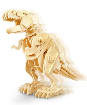 2016 Creating New Wooden Product robot dinosaur