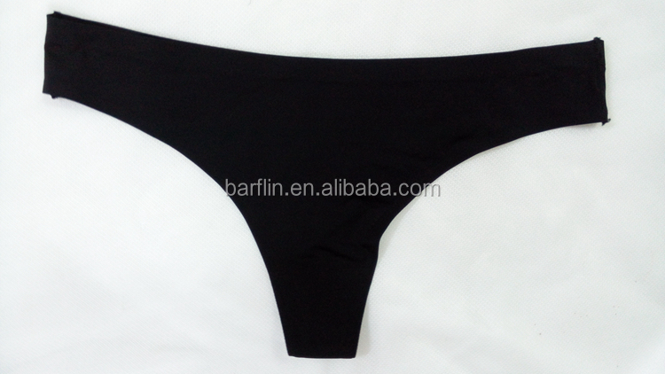 Sexy underwear panties new arrival brand design women black seamless thong