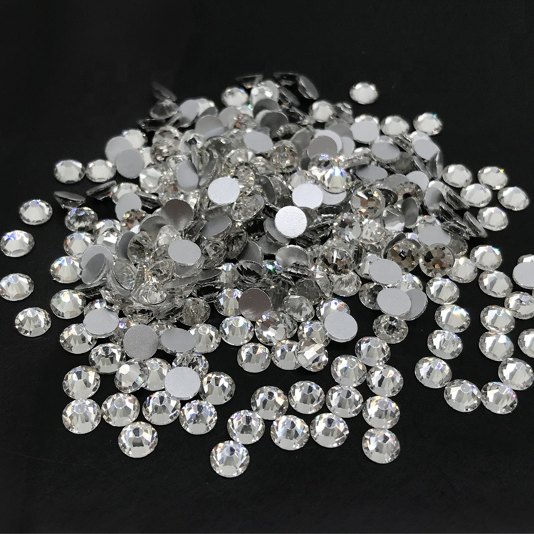 5A flat back non hot fix cristal rhinestone clear <strong>crystal</strong>