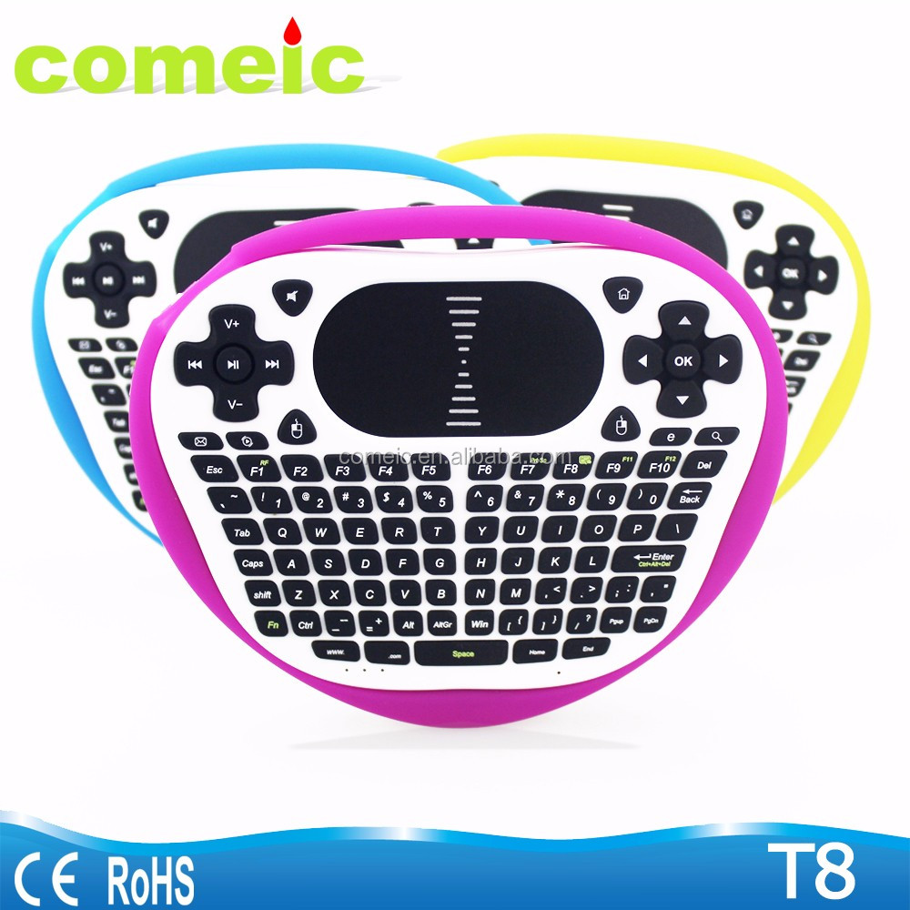 Mini Touchpad Air mouse T8 wireless keyboard