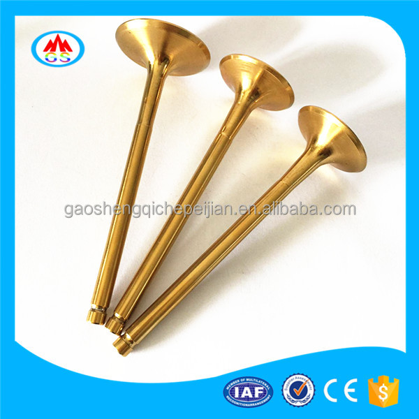 China Motorcycles spare parts engine valve for Qianjiang BJ250-15A QJ250-L BJ600GS QJ2V49FMM