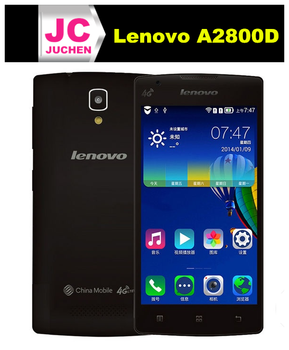 Original Lenovo A2800d 4.0 inch 800x480p Quad Core 512MB RAM 4GB ROM 1700mAh Battery 2.0mp Camera Android Cellphone