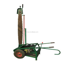 Movable wood cutting machine wood cutter machine