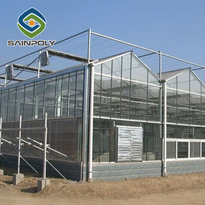cheap agricultural glass greenhouse panel clips sale