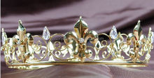 high quality Custom party Prom King Crown for man
