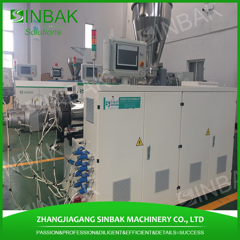in stock 25mm pe pp corrugated hose dimensions extruding machine