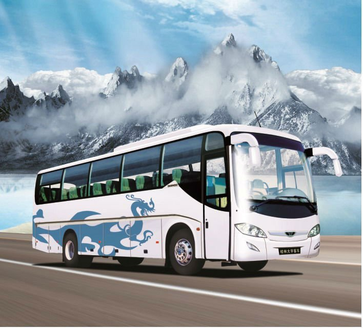 travel bus for sale GDW6119H bus design latest