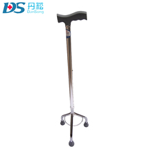 wholesale colored alloy titanium crutches for elderly patient
