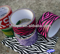 Colorful Waterproof Decorative Printed Cloth Tape