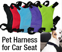 Wholesale car safty seat harness for dog pet