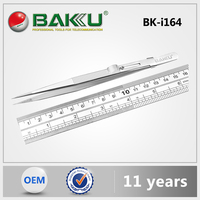 2015 Hot Sell BAKU stainless steel tweezers for BKI164 vetus tweezers.
