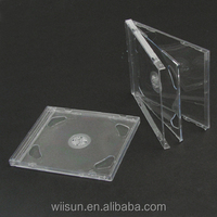 10.4mm S double clear jewel CD case