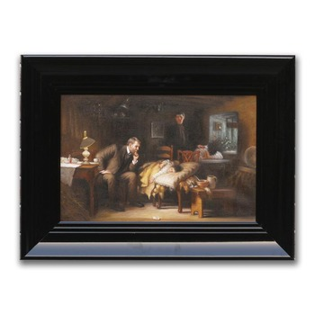 Handmade Famous Oil Painting Replica The Doctor by Sir Samuel Luke Fildes
