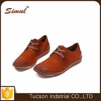 custom fashion cool men lace up casual shoes