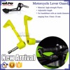 BJ-LG-004 Wholesale Motorbike accessories Yellow Bent Style Plastic Adjustable Motorcycle lever guard