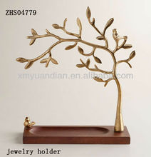 newly polyresin tree jewelry holder with ring box