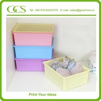 new arrival bra storage boxes Travel Bra Organizer with thick walls