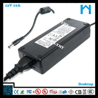 12v dimmable led power supply charger for lcd monitor electric recliner power supply 10A 120W