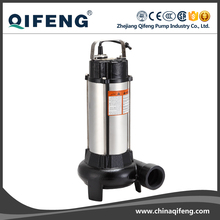 Single phase stainless steel cutting water pump with float