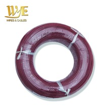 VDE Approved UL Approved Silicone Rubber Coated Resistant Heating Wire Electric Oven Wire