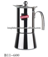 Best selling electric stainless steel moka pot