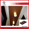 Ecological Wood Plastic Composite House Decoration WPC Ceiling Panel / board 206*30mm (Including Accessory)