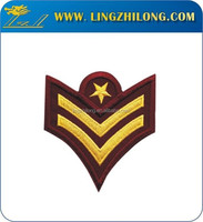 Best quality cheap factory price cute cloth embroidery patches label for garments