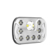 "55W led angel light head light 7 inch 5x7 car led headlight 7"" square"