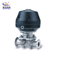 Sanitary Pneumatic Clamped Diaphragm Valve