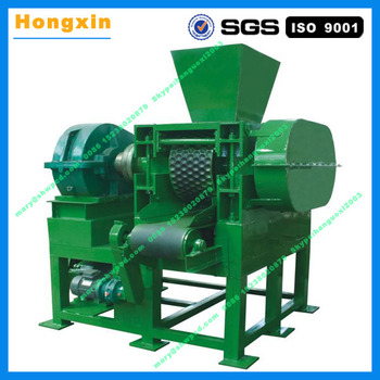 Large capacity charcoal and coal briquette machine