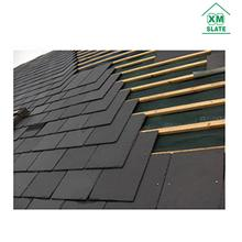 Deep quarry slate stone roofing tiles black roofing stone