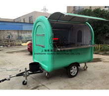 Food truck / Multi-function mobile kitchen / flow food kitchen trailer